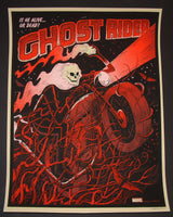 Methane Studios Ghost Rider Poster 2014 Mondo Marvel Comic Book