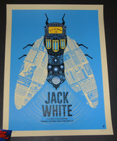 Methane Studios Jack White Poster Salt Lake City 2018 Artist Edition