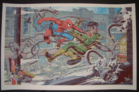 Mike Sutfin Spider-man Vs Dr Octopus Art Print Variant 2014 Mondotees