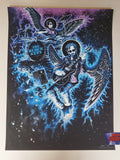 Miles Tsang Black Keys Vancouver Poster Turn Blue Artist Edition 2019