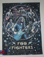 Miles Tsang Foo Fighters Poster Madison Big Bang Blues Variant 2017 Artist Proof