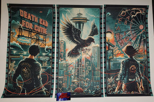 Miles Tsang Luke Martin Death Cab For Cutie Seattle Poster Set Cut AE 2020
