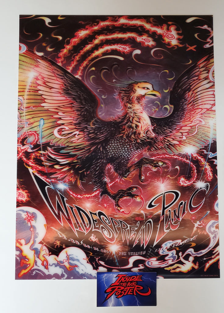 Miles Tsang Widespread Panic Atlanta Poster 2019 New Years Eve