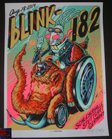 Munk One Blink 182 Poster Stuttgart Germany 2014 Artist Edition