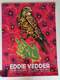 Munk One Eddie Vedder Antwerp Poster Signed Artist Edition 2017