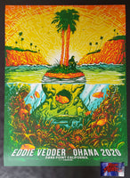Munk One Eddie Vedder Ohana Festival Poster Dana Point 2020