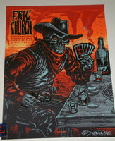 Munk One Eric Church Kansas City Poster Artist Edition 2019