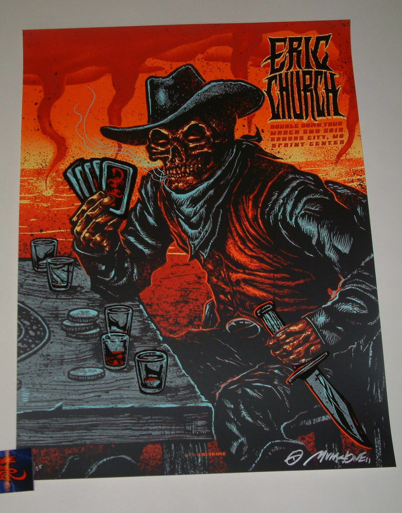 Munk One Eric Church Kansas City Poster Artist Edition Night Two 2019