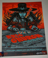 Munk One Eric Church Kansas City Pop Up Shop Poster Artist Edition 2019