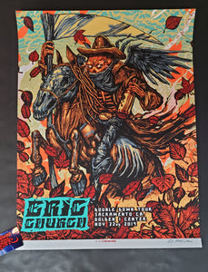 Munk One Eric Church Sacramento Poster 2019