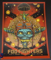 Munk One Foo Fighters Poster Wichita 2017