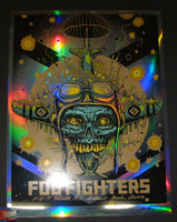 Munk One Foo Fighters Poster Wichita Foil Variant 2017 Artist Edition