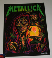 Munk One Metallica Poster Lincoln Green Dark Variant 2018 Artist Edition