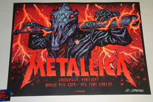 Munk One Metallica Louisville Poster Artist Edition 2019