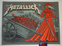 Munk One Metallica Poster London 2017 Plague Doctor