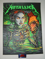 Munk One Metallica Poster San Diego Green Variant 2017