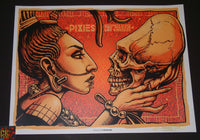 Munk One Pixies Poster Los Angeles 2013 Artist Edition S/N