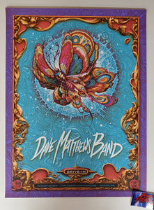 N.C. Winters Dave Matthews Band Quincy Gorge Poster Drive In 2020