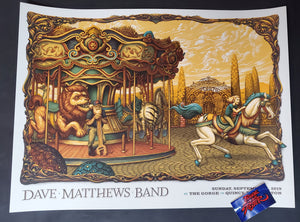 N C Winters Dave Matthews Band Gorge Poster Nostalgia Artist Edition 2019