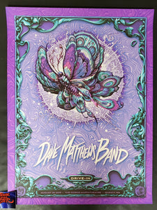 N.C. Winters Dave Matthews Band Gorge Poster Midnight Variant 2020