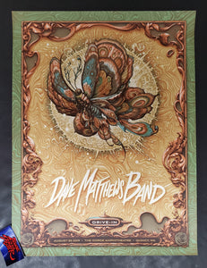 N.C. Winters Dave Matthews Band Gorge Poster Morning Variant 2020
