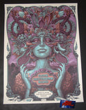 N C Winters Dave Matthews Band Woodlands Poster Vivid Variant Artist Edition 2019