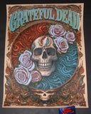 N. C. NC Winters Grateful Dead Poster 2018