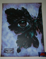 N. C. Winters Nine Inch Nails Memphis Poster Lavender Variant Artist Edition 2018
