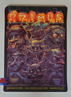 N.C. Winters Primus Brooklyn NY Poster Artist Proof 2017