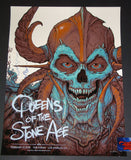 N.C. NC Winters Queens of the Stone Age Poster Los Angeles 2018 Artist Edition