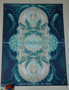Thanarit Prompa Namsing A Perfect Circle Poster Orlando Artist Edition 2018