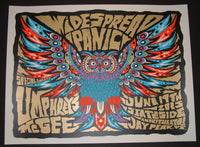 Nate Duval Widespread Panic Poster Umphrey's McGee Jay Peak 2015 Artist Edition