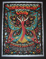 Nate Duval Widespread Panic Poster Summer Tour Silver Variant 2014