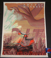 Neal Williams Arctic Monkeys Los Angeles Poster Artist Edition 2018 Night 2