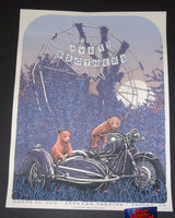 Neal Williams Avett Brothers Poster Fresno 2018 Artist Edition