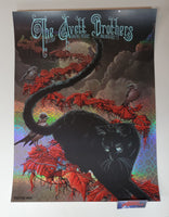 Neal Williams Avett Brothers Wallingford Poster Foil Variant Artist Edition 2019