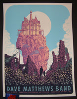 Neal Williams Dave Matthews Band Poster Saratoga Springs SPAC 2015
