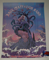 Neal Williams Dave Matthews Band West Palm Beach Poster Artist Edition 2019