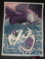 Neal Williams Foo Fighters Poster Eugene 2017 Artist Edition