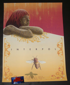 Neal Williams Interpol San Diego Poster 2018 Artist Edition