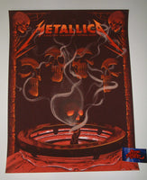Neal Williams Metallica Madrid Spain Poster VIP Artist Edition 2019