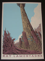 Neal Williams Ray LaMontagne Poster Troutdale 2014 Artist Edition