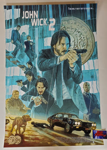 Neil Davies John Wick Chapter 2 Movie Poster 2020