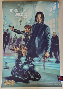 Neil Davies John Wick Chapter 3 Parabellum Movie Poster 2020