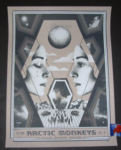 Arctic Monkeys Vancouver Poster Artist Edition Nerl Says 2018