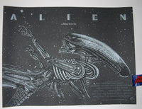 New Flesh N.E. Alien Deep Space Movie Poster 2015 Artist Edition