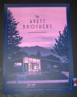 Nicholas Moegly Avett Brothers Poster West Valley City Artist Edition 2019