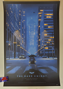 Nicholas Moegly The Dark Knight Movie Poster Artist Proof 2020