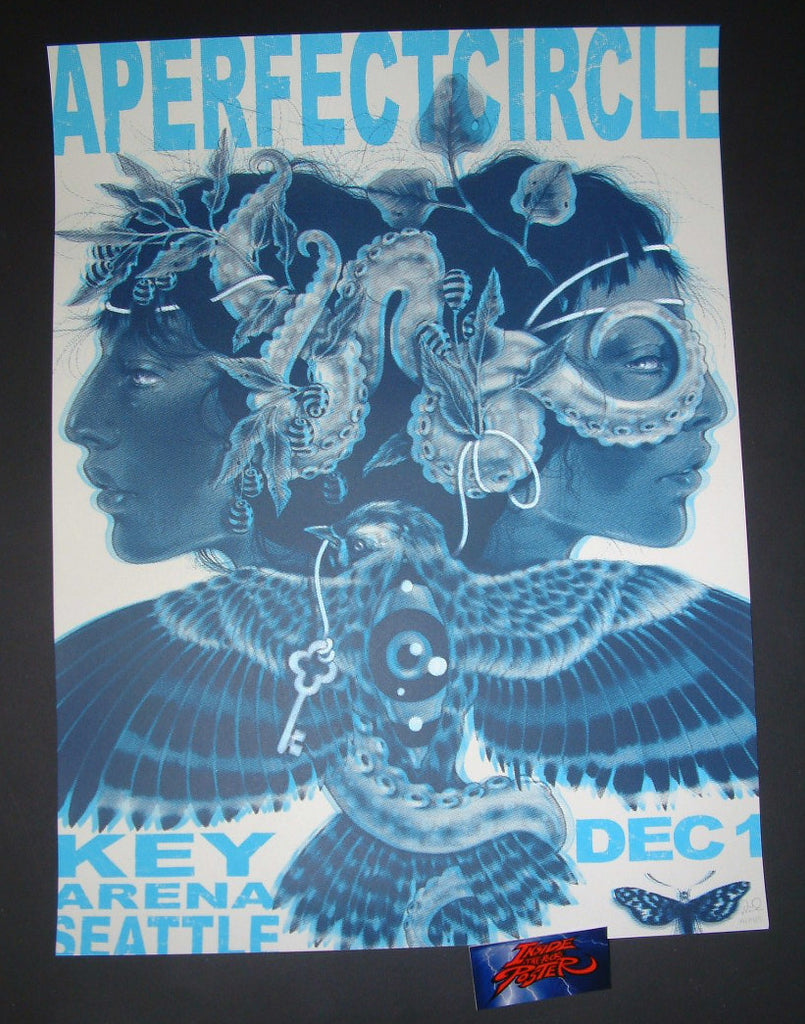 Nicomi Nix Turner A Perfect Circle Poster Seattle 2017 Artist Edition