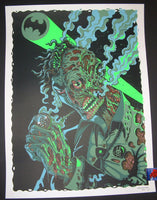 Nychos Harvey Dent Two Face Art Print 2015 Batman